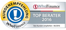 Die Top Berater nach WhoFinance 2016